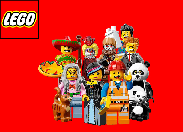 LEGO merch slide