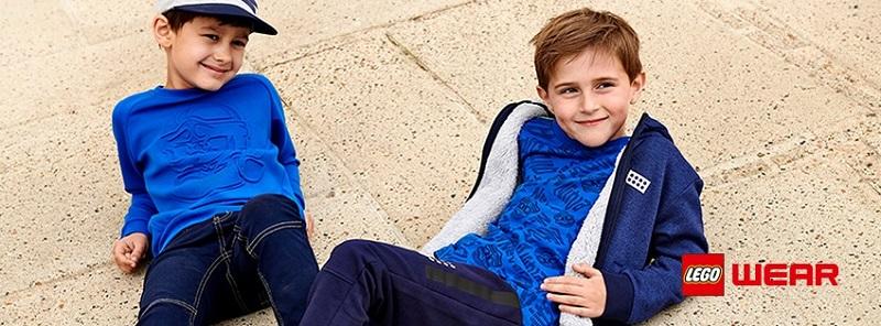 дрехите за момчета и момичета LEGO Wear